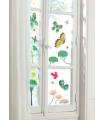 Stickers fenêtre amovibles Papillons