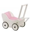 Chariot poussette pour poupée Maria blanc