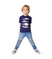 T-shirt Poisson Bleu