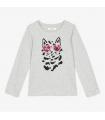 Tshirt Chat ml gris