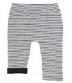 Pantaalon réversible Marcel gris/noir