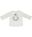 T-shirt Penguin Ecru