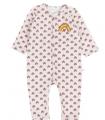 Pyjama fleuri rose