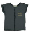 T-shirt Make a wish coton bio
