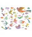 Stickers murauxBling Bling Birds
