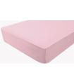 Drap housse imperméable peach pink