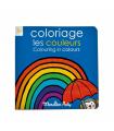Cahier de coloriage Les couleurs Français/anglais Les Popipop
